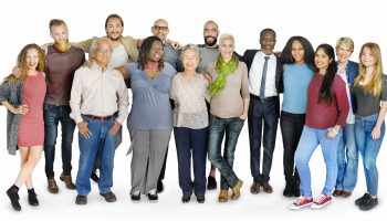 65207976 - diverse group people standing concept